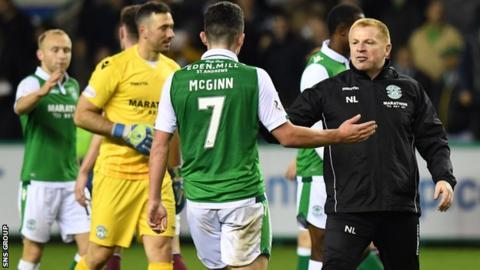 Hibs boss Neil Lennon says the club has not received any bids for star midfielder John McGinn