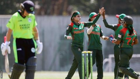 Jahanara's five-for set up Bangladesh win