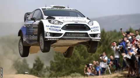 M-Sport's RS WRC car