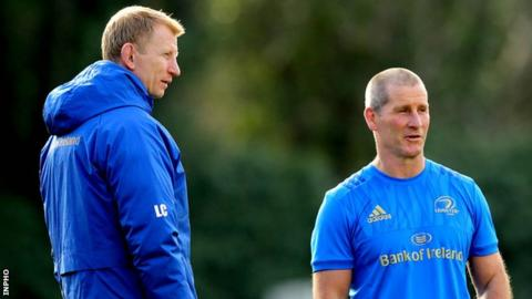 Leo Cullen is in his fourth season as Leinster head coach while Stuart Lancaster joined the backroom team in September 2016