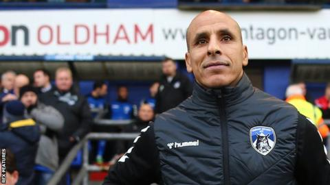 Harry Kewell appointed Oldham head coach after Dino Maamria sacking