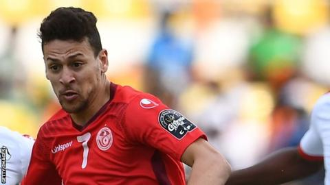 Tunisia's Msakni to miss World Cup due to knee ligament damage