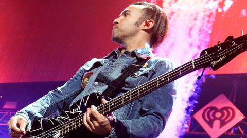 Fall Out Boy bassist Pete Wentz