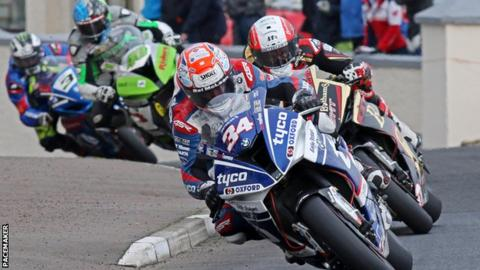Alastair Seeley at the North West 200