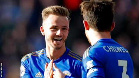 James Maddison (left)