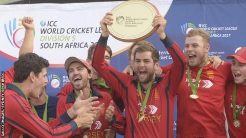 Jersey celebrate title