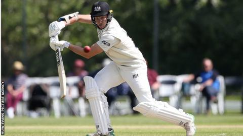 James Bracey made his first-class debut for Loughborough University CC against the Australian Universities in May 2016.