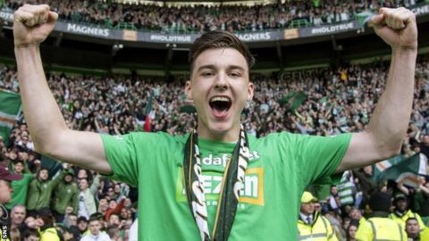 Celtic full-back Kieran Tierney