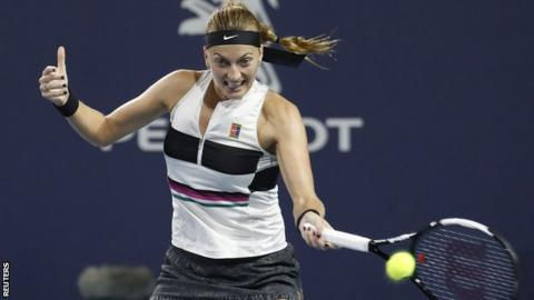 Miami Open: Barty ends Kvitova's top-ranking bid, to face Kontaveit in SFs