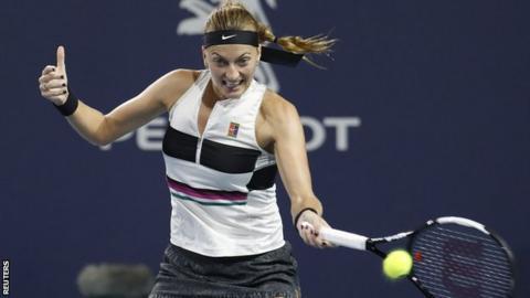 Miami Open: Barty ends Kvitova's top-ranking bid, to face Kontaveit in SFs