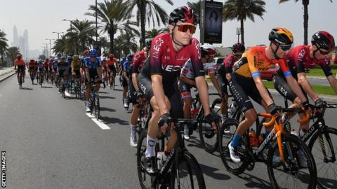 Froome returns as Ackermann takes UAE Tour's opening stage