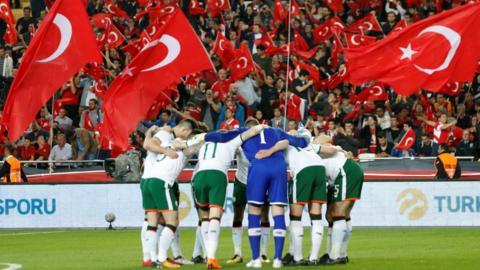 Ireland in Turkey