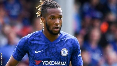 Kasey Palmer in action for Chelsea