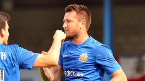 Defender Gareth McKeown