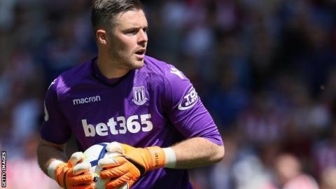 Jack Butland: Stoke City boss Gary Rowett expects England goalkeeper to stay