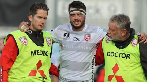 Lewis Ludlow: Gloucester flanker out for two months with wrist injury