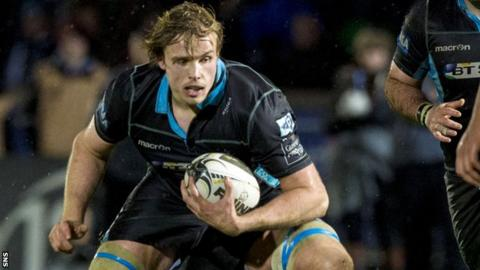 Glasgow Warriors forward Jonny Gray