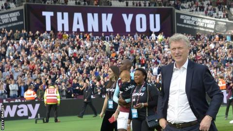 David Moyes at West Ham