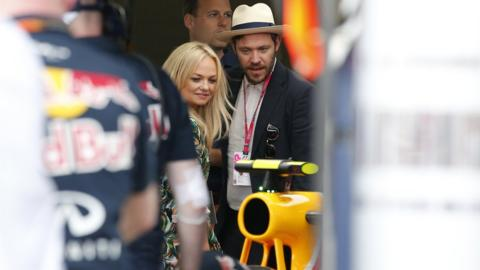 Will Young and Emma Bunton