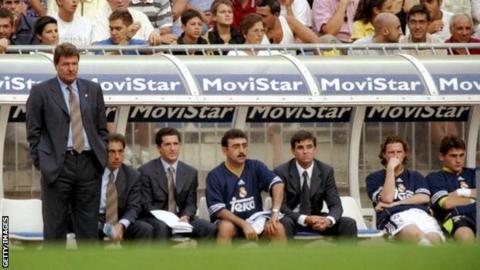John Toshack at Real Madrid