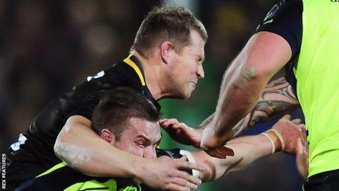 Dylan Hartley high tackles Sean O'Brien