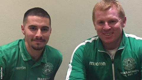 Hibs sign Jamie Maclaren on loan deal from Darmstadt