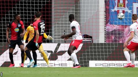 Hertha goal