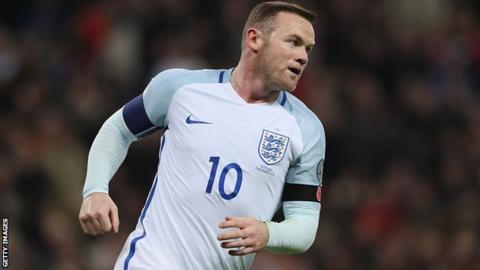 Wayne Rooney to make England comeback