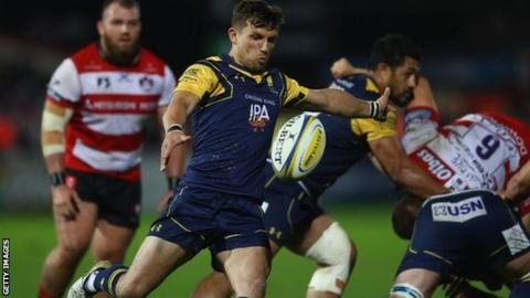 Jono Kitto played twice for Warriors on loan from Leicester Tigers in the autumn of 2017