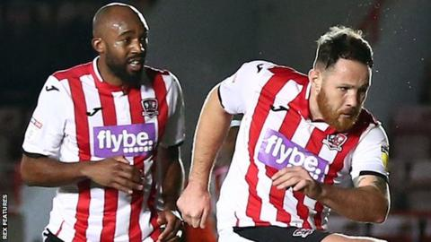 Exeter City players