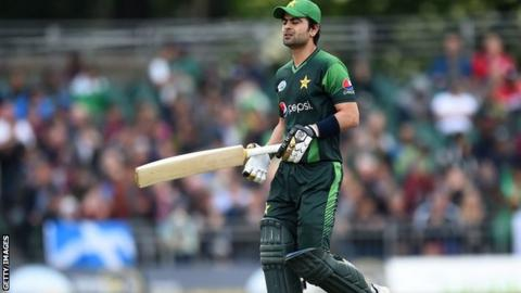 Pakistan cricketer Ahmed Shehzad