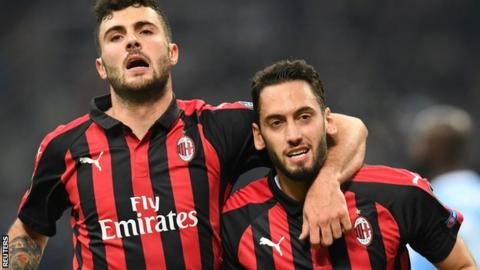 AC Milan fined by UEFA for breaching Financial Fair Play rules