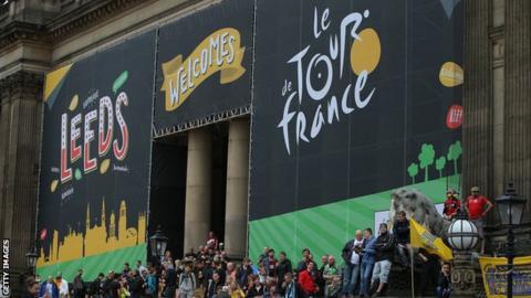 Grand Depart celebrations in Leeds