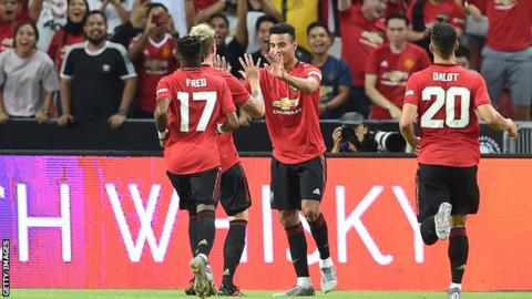 Mason Greenwood scores winner as Man Utd beat Inter Milan in Singapore