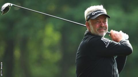 Darren Clarke is concentrating on the Europe's defence of the Ryder Cup