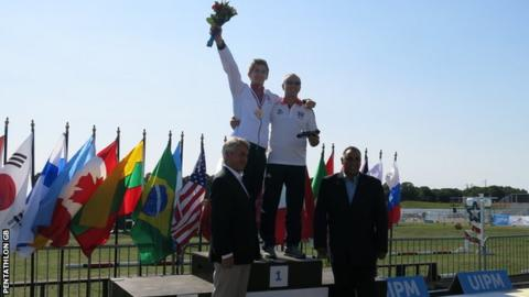 Jamie Cooke modern pentathlon