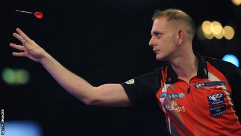Tyrone-based Kyle McKinstry will face defending champion Glen Durrant in the quarter-finals on Friday