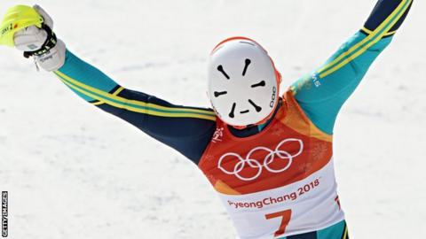 Hirscher out of Olympic slalom on 1st run