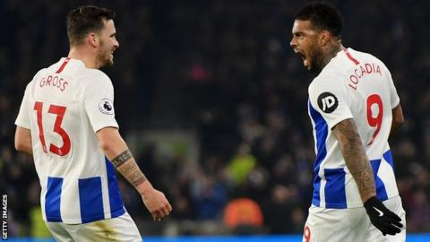 Pascal Gross and Jurgen Locadia