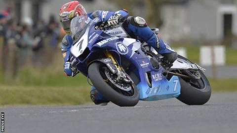 Dan Kneen was on winning form at Tandragee