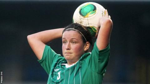 Glentoran's Demi Vance has returned to the NI squad after a stint in Australia