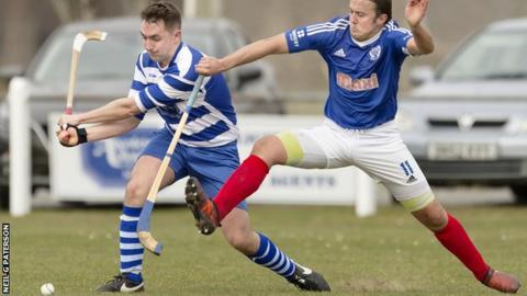 Kyles Athletic were 2-1 winners at Newtonmore