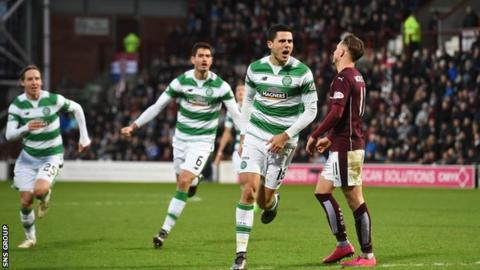 Celtic visit Hearts on Saturday