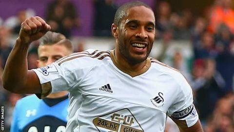 Ashley Williams of Swansea