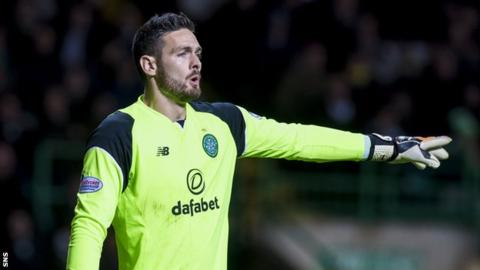 Celtic goalkeeper Craig Gordon