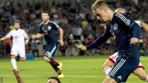 Leigh Griffiths has six caps for Scotland
