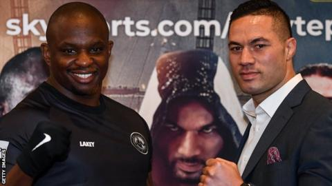 Dillian Whyte dismisses Joseph Parker `go to war´ claims