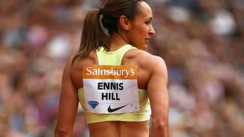 Olympic champion Jessica Ennis-Hill