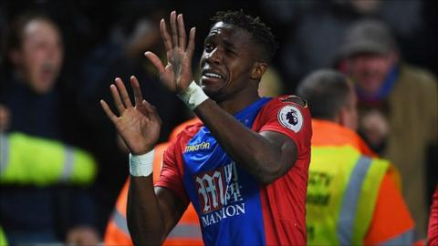 Zaha was born in Ivory Coast but has two caps for England