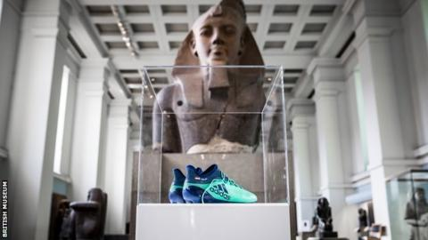 Salah's boots score at British Museum